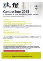 Campus Tour 2015 - Vorträge von IG Metall