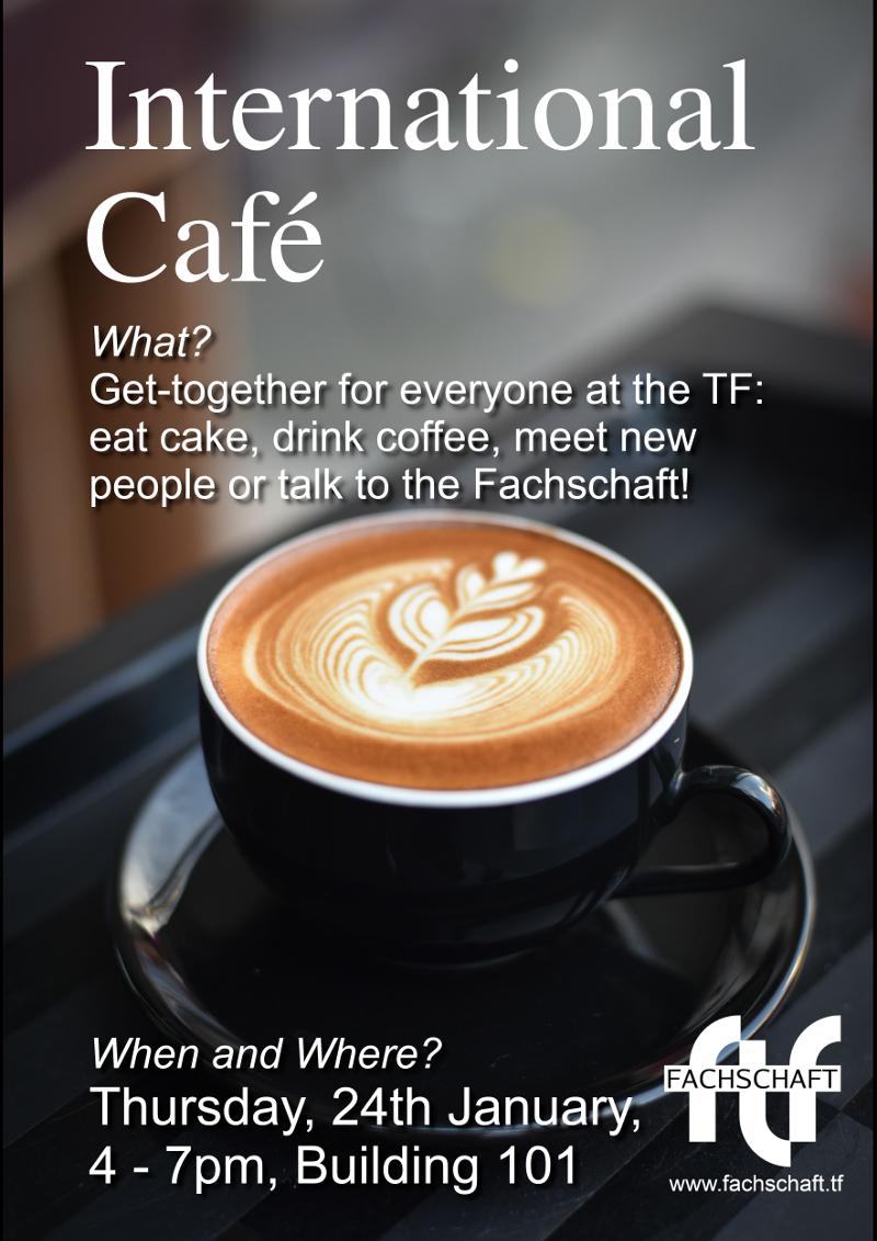 International Café on January 24