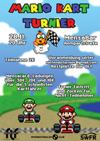Mario Kart Turnier 28.11.2016