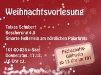 Weihnachtsvorlesung am 17. Dezember 2015
